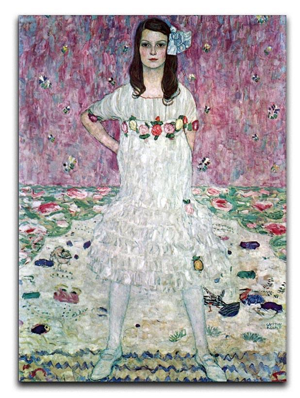 Eugenia Primavesi by Klimt Canvas Print or Poster  - Canvas Art Rocks - 1