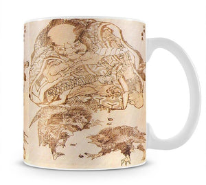 Exodus by Hokusai Mug - Canvas Art Rocks - 1