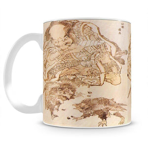 Exodus by Hokusai Mug - Canvas Art Rocks - 2