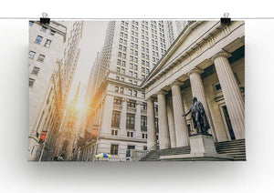 Facade of the Federal Hall Canvas Print or Poster - Canvas Art Rocks - 2