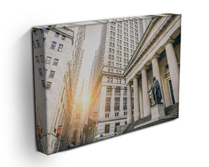 Facade of the Federal Hall Canvas Print or Poster - Canvas Art Rocks - 3