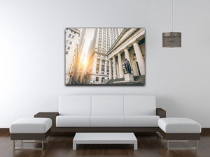 Facade of the Federal Hall Canvas Print or Poster - Canvas Art Rocks - 4