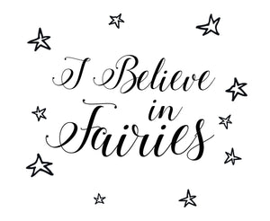 Fairies Wall Decal - Canvas Art Rocks - 2