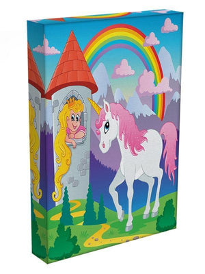 Fairy tale unicorn Canvas Print or Poster - Canvas Art Rocks - 3