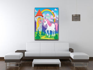 Fairy tale unicorn Canvas Print or Poster - Canvas Art Rocks - 4