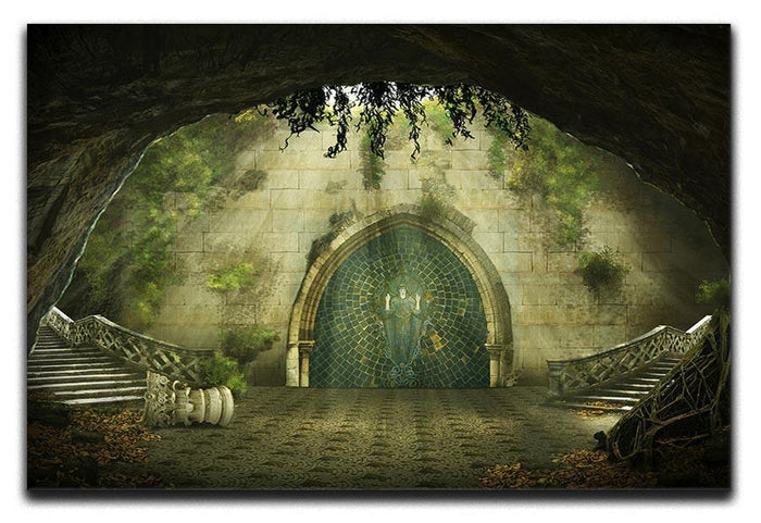 Fantasy cave Canvas Print or Poster