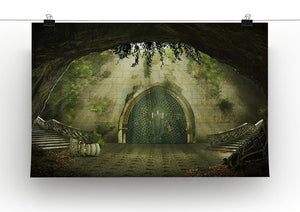 Fantasy cave Canvas Print or Poster - Canvas Art Rocks - 2
