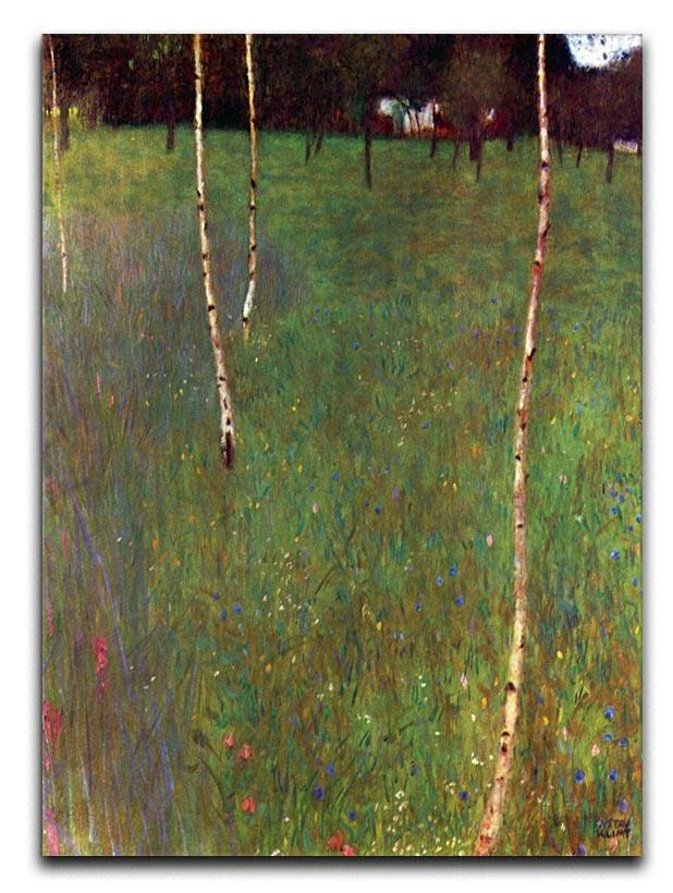 Farmhouse by Klimt Canvas Print or Poster  - Canvas Art Rocks - 1