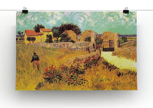 Farmhouse in Provence by Van Gogh Canvas Print & Poster - Canvas Art Rocks - 2