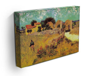 Farmhouse in Provence by Van Gogh Canvas Print & Poster - Canvas Art Rocks - 3