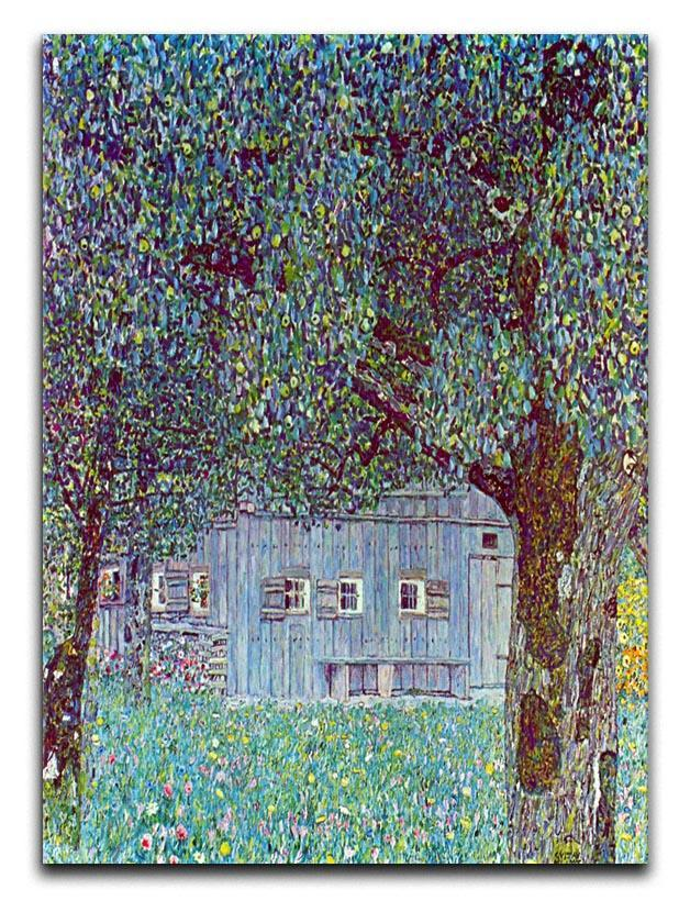 Farmhouse in Upper Austria by Klimt Canvas Print or Poster  - Canvas Art Rocks - 1