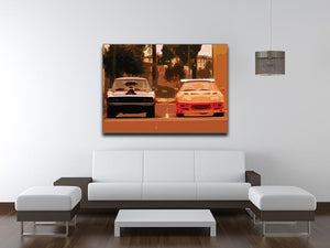 Fast and Furious Print - Canvas Art Rocks - 4