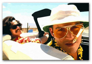 Fear and Loathing in Las Vegas Print - Canvas Art Rocks - 1
