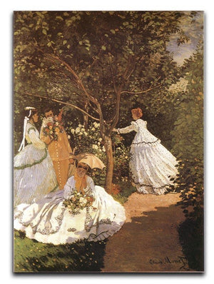 Femmes au jardin 1867 by Monet Canvas Print & Poster  - Canvas Art Rocks - 1