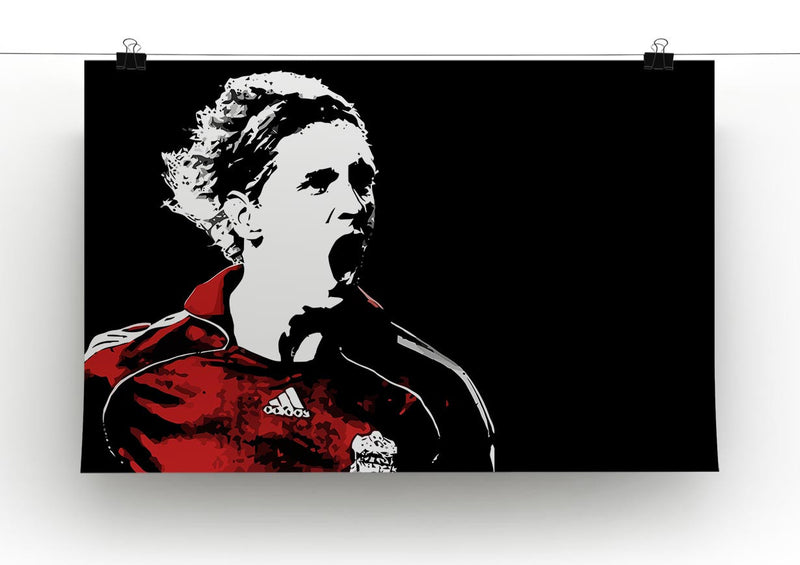 Fernando Torres Print - Canvas Art Rocks - 2