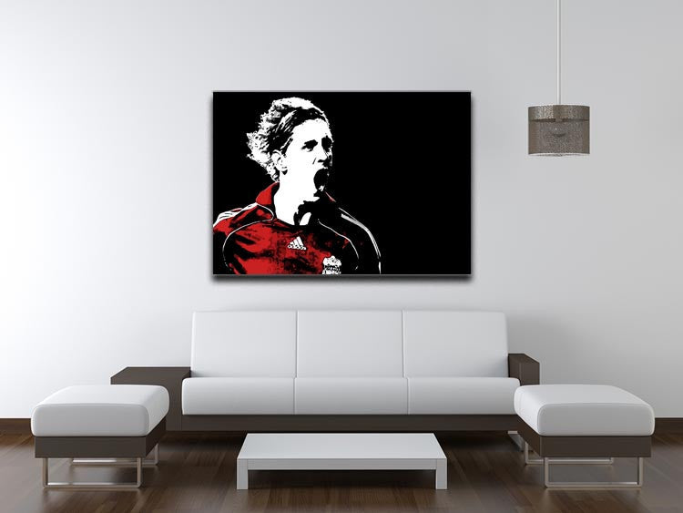 Fernando Torres Print - Canvas Art Rocks - 4