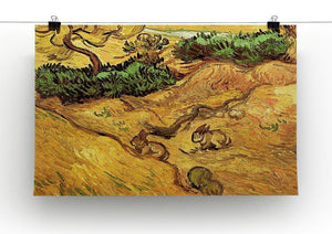 Field with Two Rabbits by Van Gogh Canvas Print & Poster - Canvas Art Rocks - 2