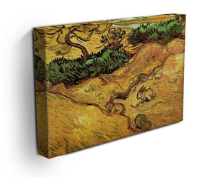 Field with Two Rabbits by Van Gogh Canvas Print & Poster - Canvas Art Rocks - 3