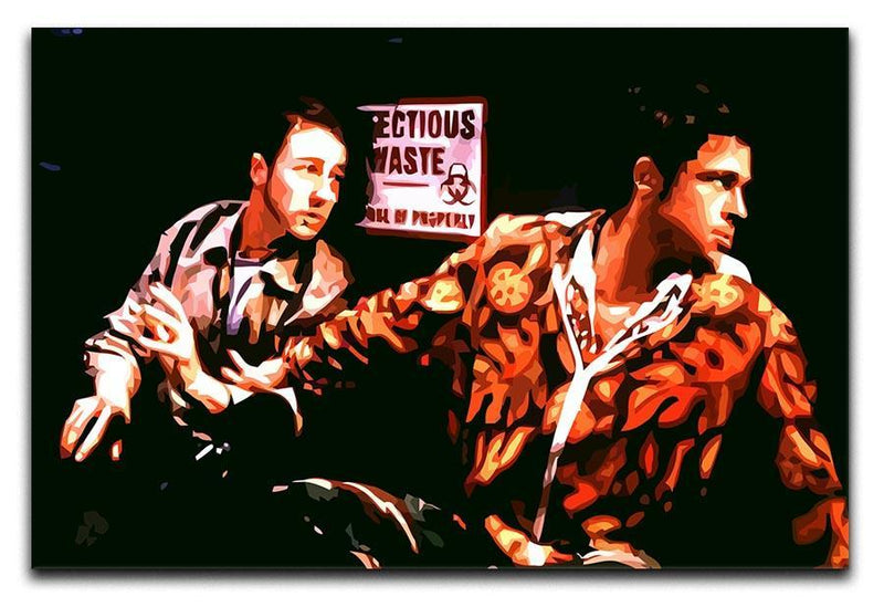 Fight Club Pop Art Canvas Print or Poster  - Canvas Art Rocks - 1