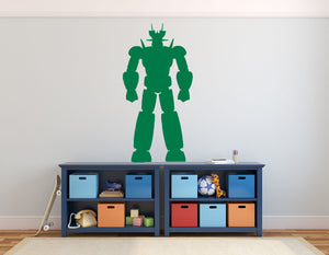 Fighter Robot - Version 2 Wall Decal - Canvas Art Rocks - 1