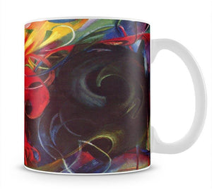 Fighting forms by Franz Marc Mug - Canvas Art Rocks - 1