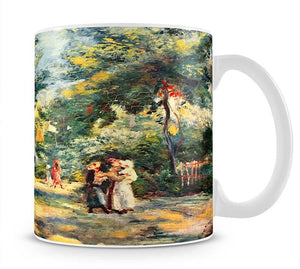 Figures in the garden by Renoir Mug - Canvas Art Rocks - 1