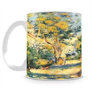 Figures in the garden by Renoir Mug - Canvas Art Rocks - 2