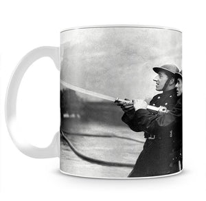 Firefighters morning after air raids London Mug - Canvas Art Rocks - 2
