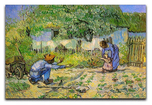 First Steps by Van Gogh Canvas Print & Poster  - Canvas Art Rocks - 1