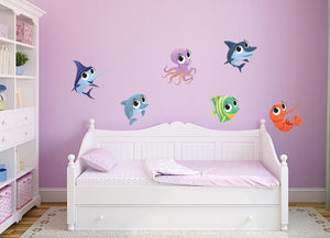 Fish Wall Decal Set - Canvas Art Rocks