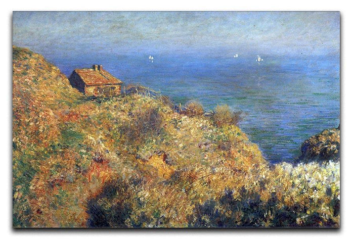 Fishermans lodge at Varengeville by Monet Canvas Print or Poster