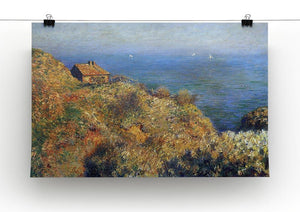 Fishermans lodge at Varengeville by Monet Canvas Print & Poster - Canvas Art Rocks - 2