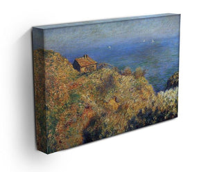 Fishermans lodge at Varengeville by Monet Canvas Print & Poster - Canvas Art Rocks - 3