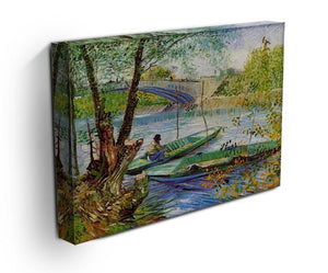 Fishing in Spring by Van Gogh Canvas Print & Poster - Canvas Art Rocks - 3