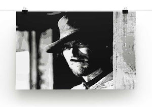 Clint Eastwood Fistful of Dollars Print - Canvas Art Rocks - 2