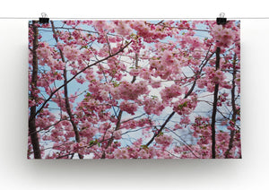 Landscape Flower Print - Canvas Art Rocks - 2
