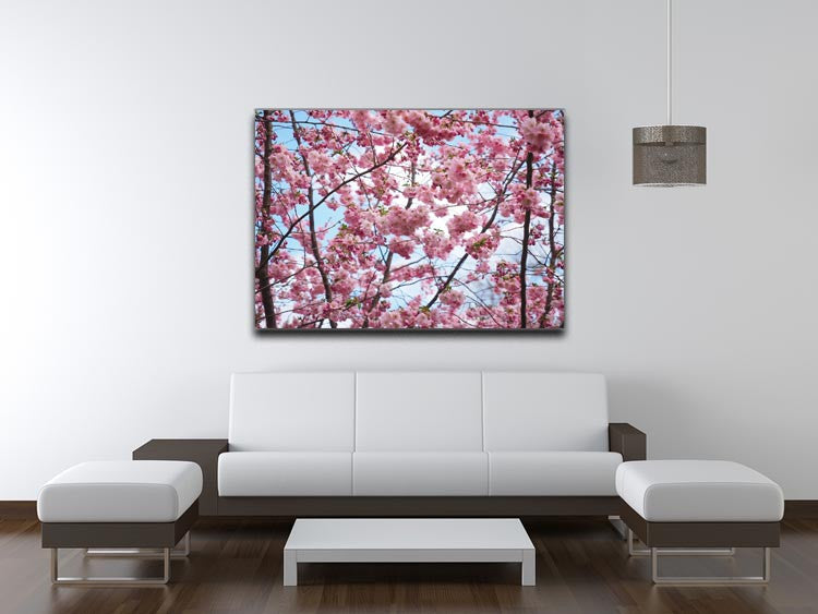 Landscape Flower Print - Canvas Art Rocks - 4