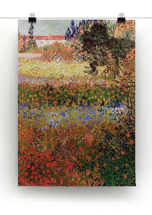 Flowering Garden by Van Gogh Canvas Print & Poster - Canvas Art Rocks - 2