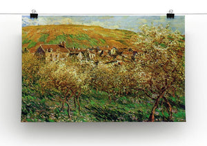 Flowering apple trees by Monet Canvas Print & Poster - Canvas Art Rocks - 2