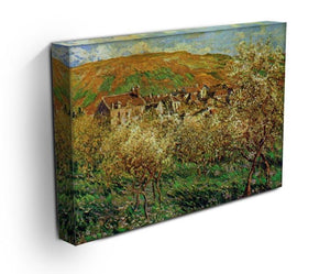 Flowering apple trees by Monet Canvas Print & Poster - Canvas Art Rocks - 3