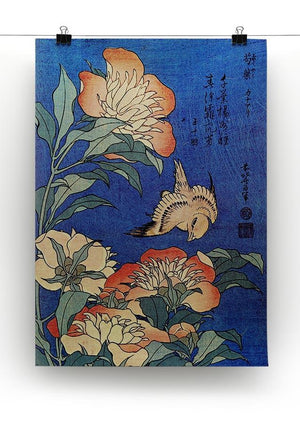 Flowers by Hokusai Canvas Print or Poster - Canvas Art Rocks - 2