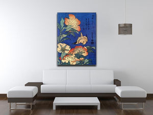 Flowers by Hokusai Canvas Print or Poster - Canvas Art Rocks - 4