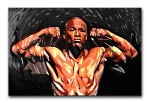 Floyd Mayweather Print - Canvas Art Rocks - 1