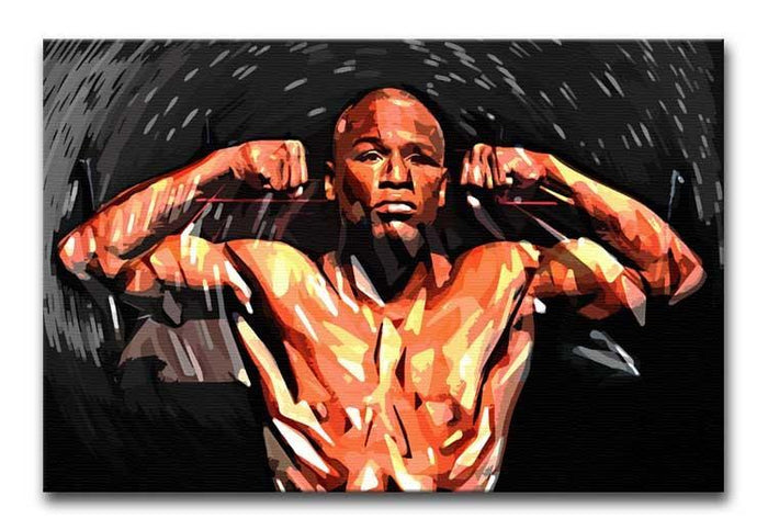 Floyd Mayweather Canvas Print or Poster