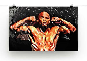 Floyd Mayweather Print - Canvas Art Rocks - 2