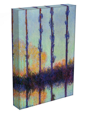 Four poplars by Monet Canvas Print & Poster - Canvas Art Rocks - 3