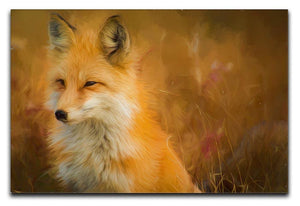 Fox Painting Canvas Print or Poster  - Canvas Art Rocks - 1