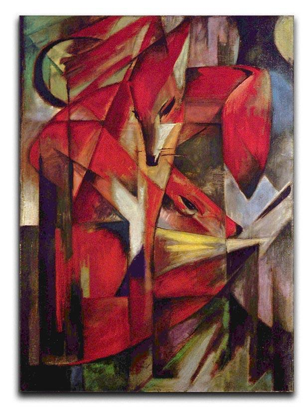 Foxes by Franz Marc Canvas Print or Poster