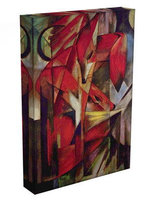 Foxes by Franz Marc Canvas Print or Poster - Canvas Art Rocks - 3