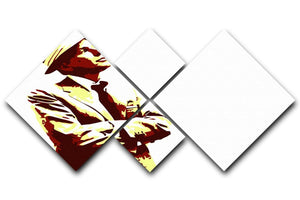 Frank Sinatra 4 Square Multi Panel Canvas  - Canvas Art Rocks - 1